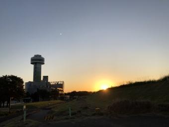 すいとぴあ江南 夕日 展望タワー