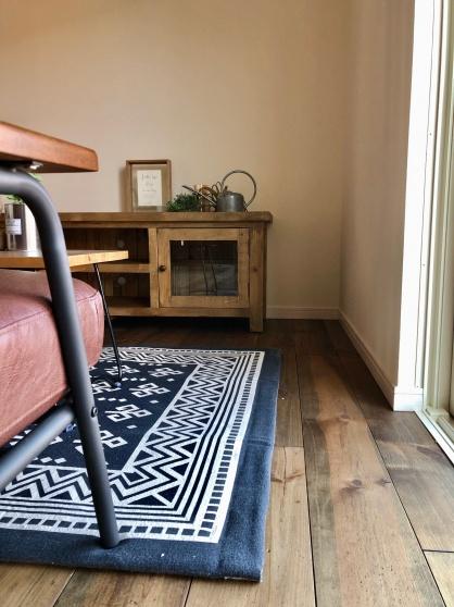 ムク床のイメージ